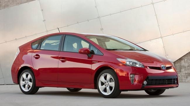 Toyota Prius 2012 USA rojo