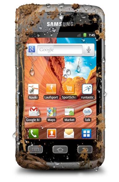 Samsung Galaxy Xcover, el rival del Motorola Defy