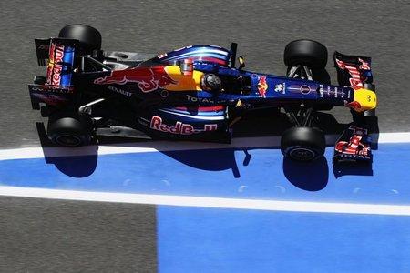 GP de España F1 2011: Vettel golpea una vez para hacerse con el mejor tiempo