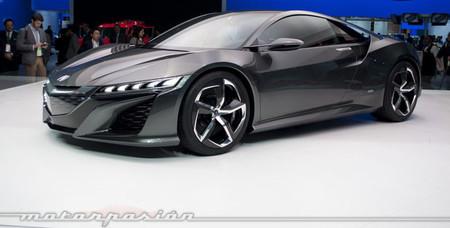 Honda llevará el NSX Concept a Goodwood