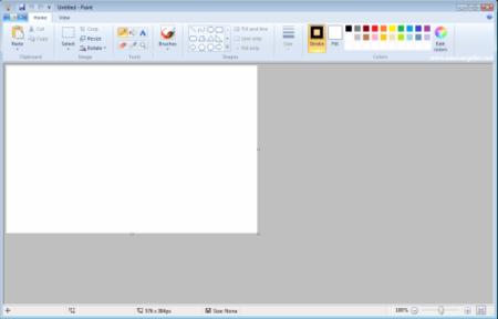 Primeros indicios de la presencia de la Ribbon en Windows 7