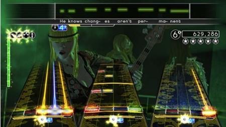 'Rock Band' de Wii ya cuenta con tienda. Listado de temas
