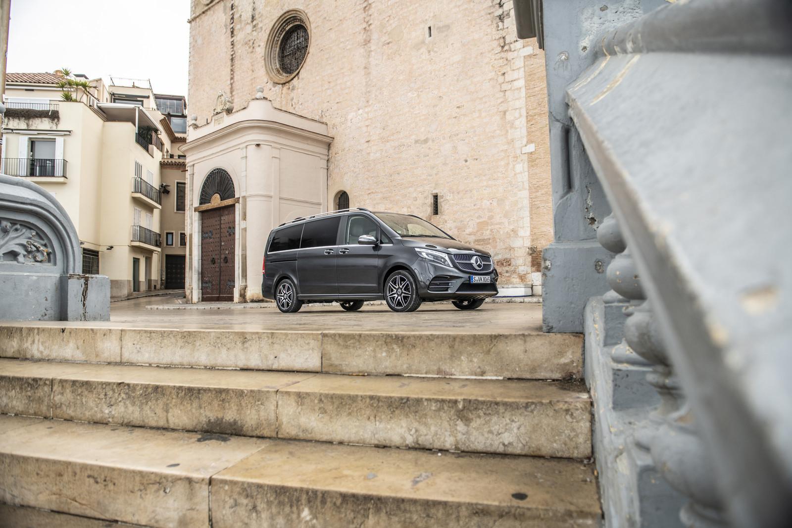 Foto de Mercedes-Benz Clase V 2019 (53/92)