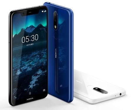 Nokia X5: así es el nuevo gama media con diseño de cristal, pantalla con 'notch' y Android puro