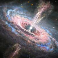 """La existencia de agujeros negros supermasivos no cuadran para la UNAM: """"hay algo raro"""" sobre el cuásar más antiguo del Universo"""
