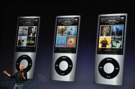 iPod nano añade cámara y sintonizador de radio