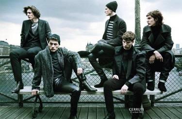 Cerruti apuesta por el cuero y las paletas cromáticas más oscuras en su colección Fall 2011