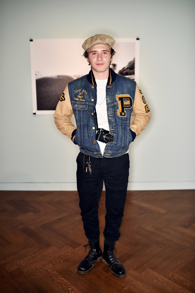 Brooklyn Beckham In Polo Ralph Lauren
