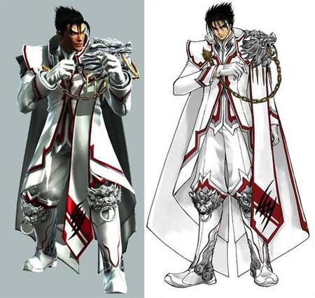 'Tekken 6': se muestra el traje de Jin Kazama diseñado por CLAMP