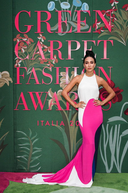 Tamara Kalinich green carpet fashion awards 2019