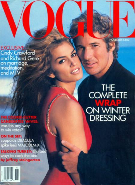Moda para hombres: Richard Gere, hombre Vogue