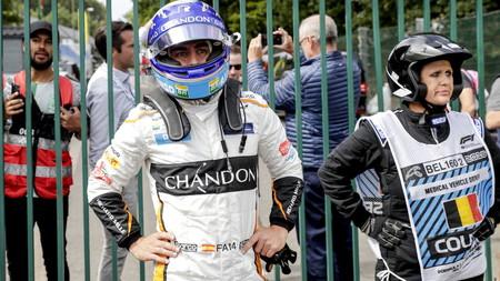 Alonso Belgica F1 2018