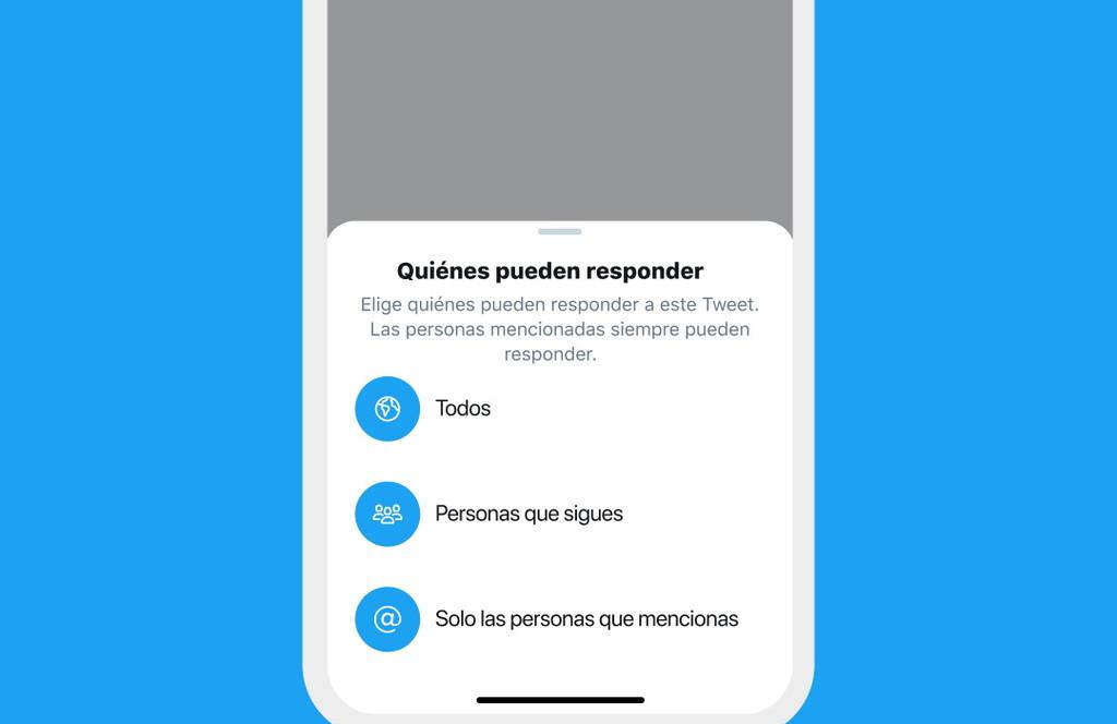 Twitter ha empezado a permitir que cada usuario elija quién puede responder a los suyos: así funciona
