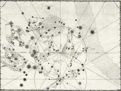 Los impresionantes dibujos de Johann Bayer, el hombre que inventó las constelaciones celestes modernas