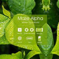 Maze Alpha, un smartphone sin marcos con 6GB de RAM, por 148 euros con 2 años de garantía