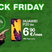 Black Friday en Amena: un Huawei P20 Lite por 6,90 euros/mes o 50GB por 24,95 euros/mes