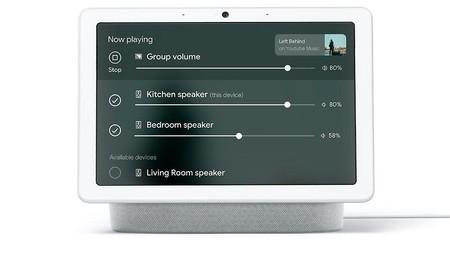 Control Multiroom Nest Hub