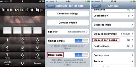 La contraseña de desbloqueo debería ser obligatoria en móviles corporativos