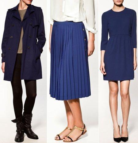 Zara azul tendencia