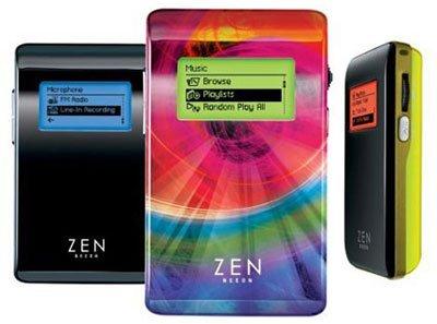 Creative Zen Neon y de regalo un gusano