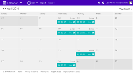 Calendario Outlook.Como Trasladar El Calendario De Google A Outlook Calendar Y
