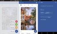 Facebook da los primeros pasos hacia Material Design en su aplicación para Android