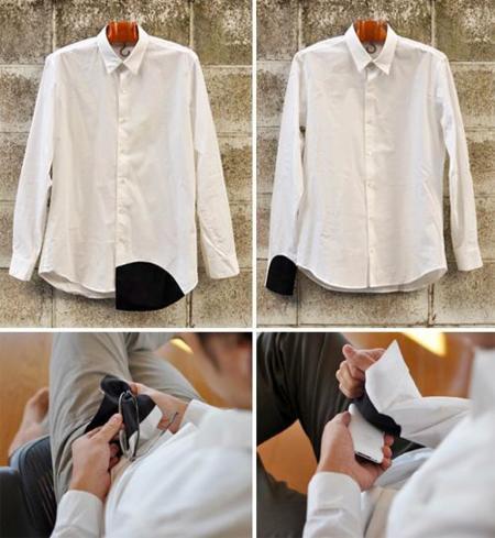 Camisa para limpiar las gafas y las pantallas de los gadgets
