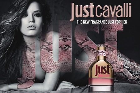 Primer look de Georgia May Jagger como imagen de Just Cavalli
