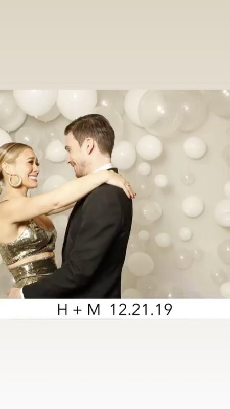 hilary duff boda