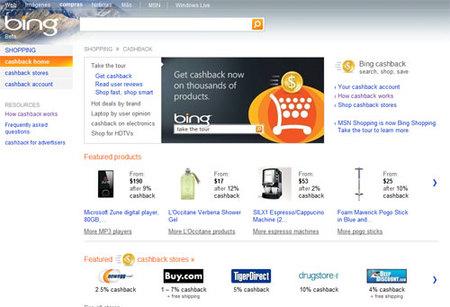 Bing hereda la posibilidad de comprar con descuento al usar el buscador