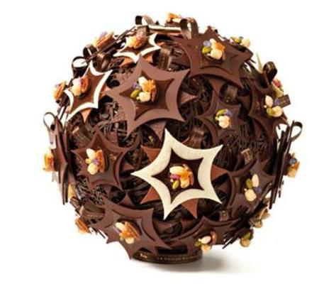 La bola de Navidad más lujosa está en La Maison du Chocolat