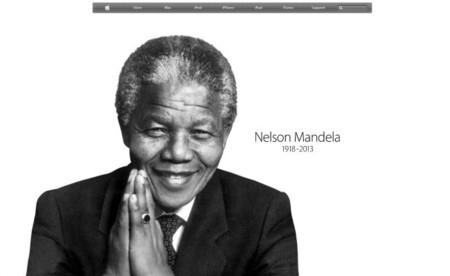 Apple recuerda a Nelson Mandela en su página americana [imagen de la semana]