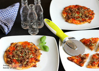 Recetas de verano para los peques: pizzas individuales de carne picada