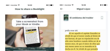 """Booklights, un """"club de lectura"""" traído a iOS: App de la Semana"""