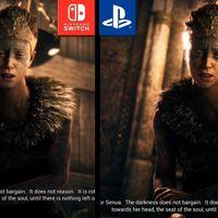 Hellblade: Senua's Sacrifice: las versiones de Nintendo Switch y PS4 cara a cara en un vídeo comparativo