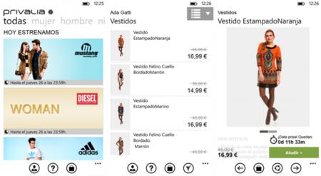 Comprar con windows es f cil las 5 mejores aplicaciones - Privalia mobile ...