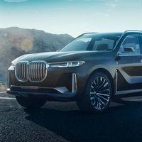El BMW X7 iPerformance Concept sale de las sombras antes de tiempo