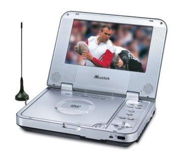 Mustek MP-70D y MP-80D, reproductores de DVD con TDT