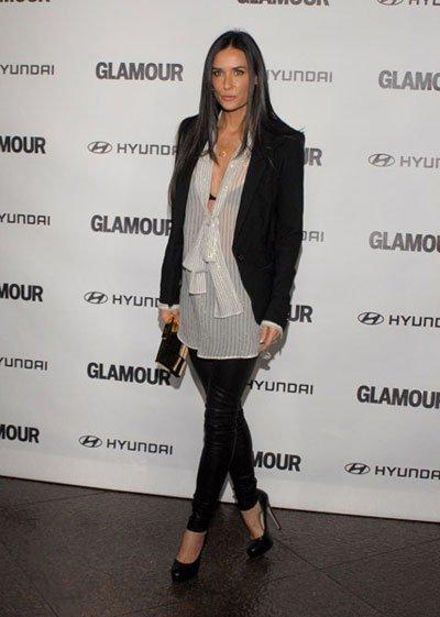 Demi Moore en los Glamour Reel