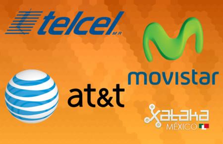 Comparamos el catálogo de smartphones de AT&T, Movistar y Telcel