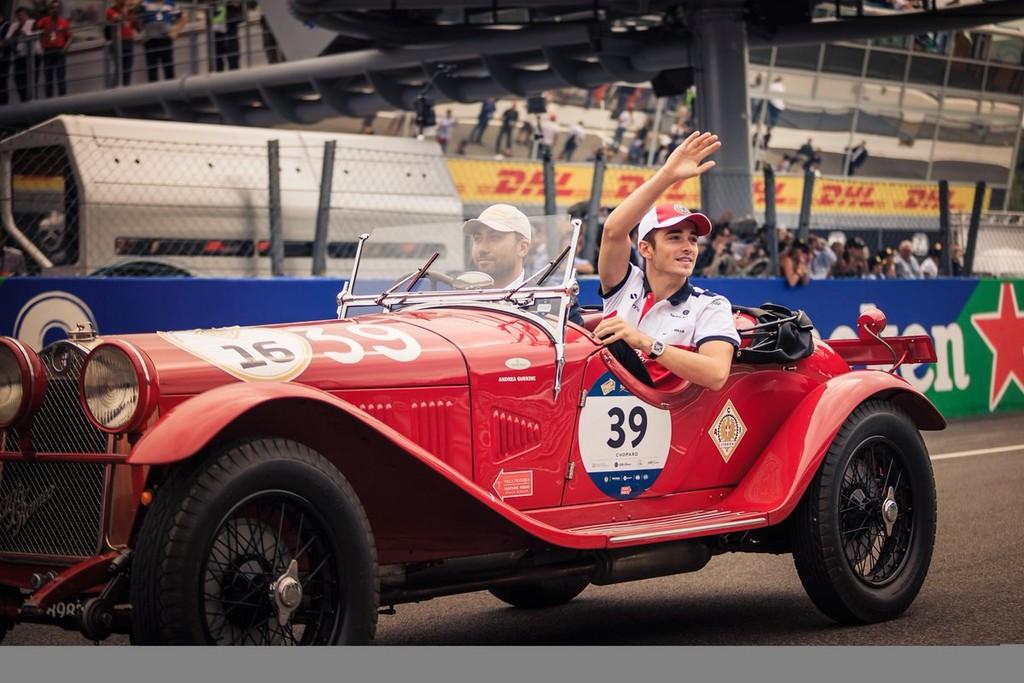 Charles Leclerc Piloto Ferrari