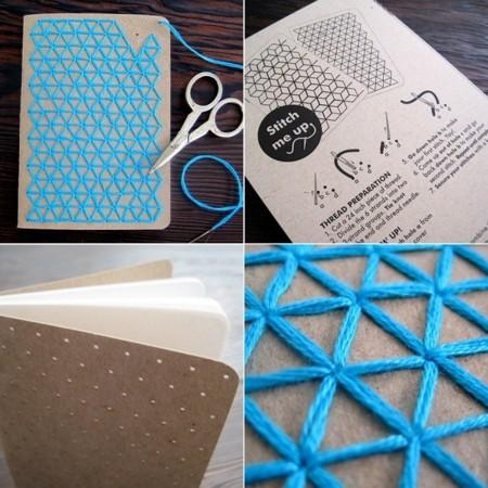 cuaderno bordado