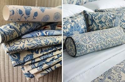 Nueva colección de tejidos y papeles pintados de  Morris & Co inspirada en diseños clásicos