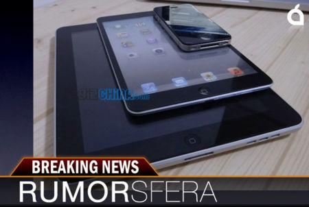 Rumorsfera: el iPad mini y la renovación de los iMac. ¿Evento en octubre?