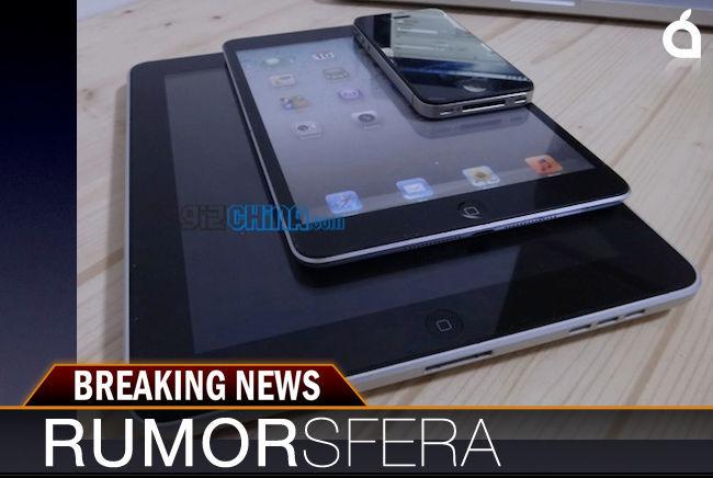 Rumorsfera, nuevo iPad mini?