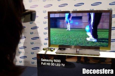 Televisión Samsung LED 9000 en 3D