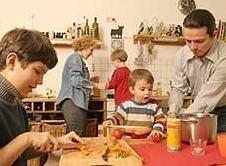 Influencias en la adquisición de los hábitos alimentarios sanos