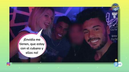 Zayra Gutiérrez de Benito la vuelve a liar en una multitudinaria fiesta ilegal junto a los chicos de 'La Isla de las Tentaciones'