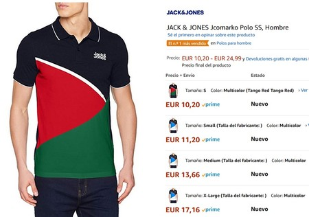 JACK /& JONES Jcomarko Polo SS Hombre