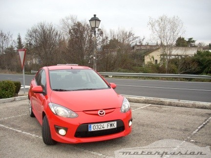 Prueba: Mazda2 5p (parte 1)